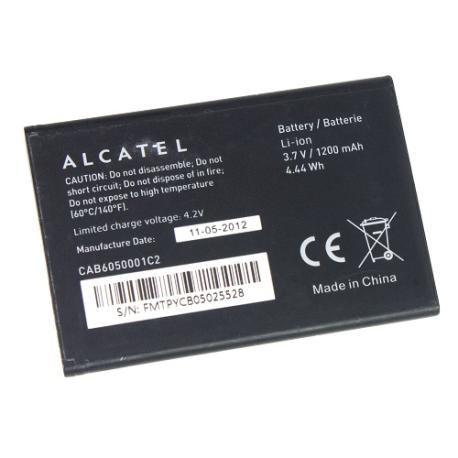 BATERIA CAB6050001C2 ORIGINAL PARA ALCATEL OT-V860, VF860, VODAFONE SMART 2 DE 1200MA