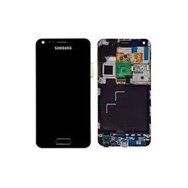 Pantalla tactil + lcd con marco Samsung i9070 Galaxy S Advance Negro
