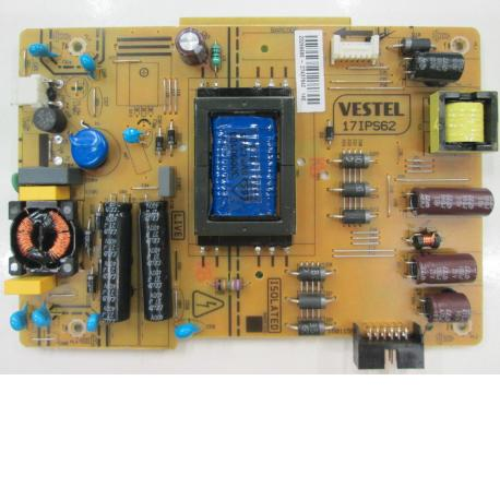 FUENTE DE ALIMENTACION POWER SUPPLY BOARD TV KUNFT 395VDLM15 VESTEL 17IPS62