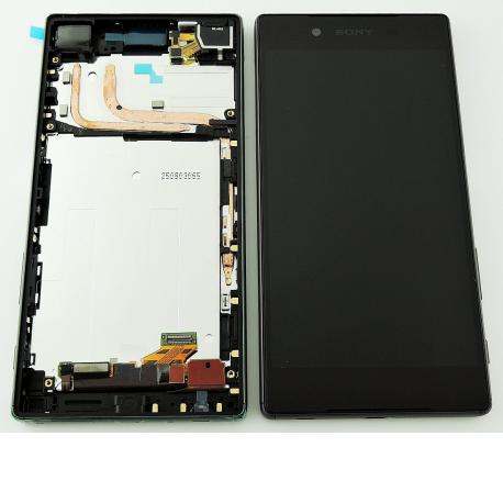 Pantalla LCD Display + Tactil con Marco Original para Sony Xperia Z5 E6603, E6653 - Negra