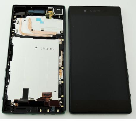 PANTALLA LCD DISPLAY + TACTIL CON MARCO ORIGINAL PARA SONY XPERIA Z5 E6603, E6653 - VERDE