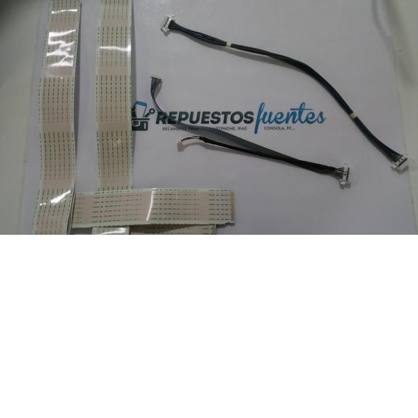 KIT DE CABLES Y FLEX TV LG 43UF6407-ZA EAD63525707