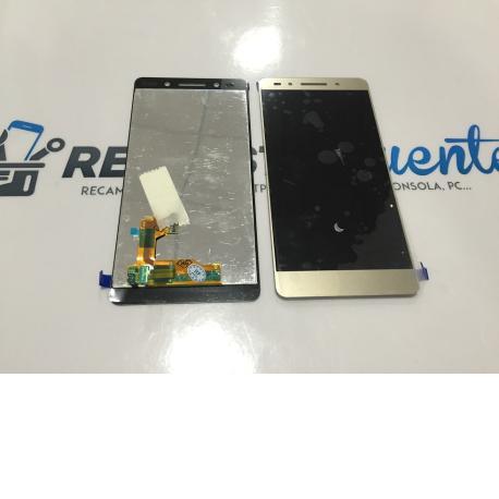 Repuesto Pantalla Tactil + LCD para Huawei Honor 7 - Oro dorada