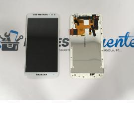 PANTALLA TACTIL + LCDDISPLAY CON MARCO PARA MOTOROLA MOTO X STYLE X3 XT1570 - BLANCA