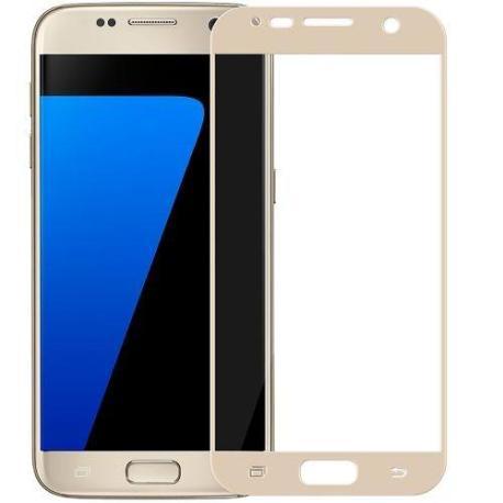 Pantalla de Cristal Templado para Samsung Galaxy S7 SM-G930F - Oro