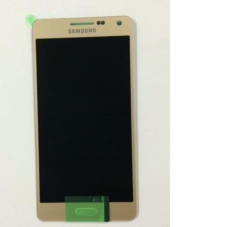 Pantalla Lcd + Tactil Original Samsung Galaxy A5 A500F SM-A500FU Oro Dorado