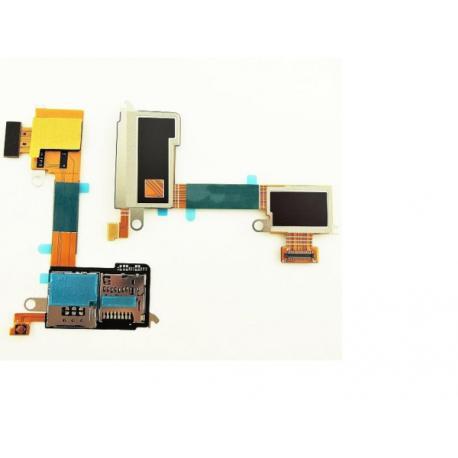 Flex Lector Sim y Sd Original Sony Xperia M2 D2303 D2305 D2306 - Recuperado