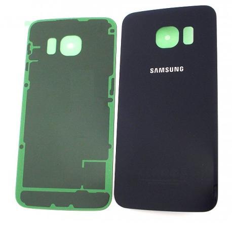 Carcasa Tapa Trasera de Bateria Original para Samsung Galaxy S6 Edge SM-G925F -Negra