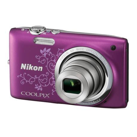 Camara de Fotos digital Nikon Coolpix S2700 Morada - Usada