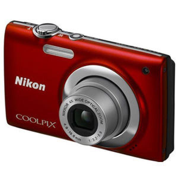 CAMARA DE FOTOS DIGITAL NIKON COOLPIX S2500 ROJA - USADA