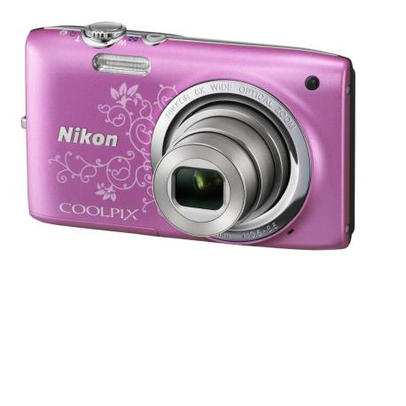 Camara de Fotos digital Nikon Coolpix S2700 Rosa - Usada