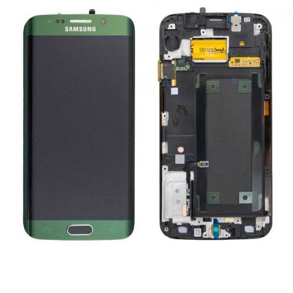 PANTALLA LCD + TACTIL ORIGINAL SAMSUNG GALAXY S6 EDGE SM-G925F - VERDE