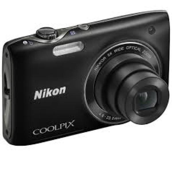 CAMARA DE FOTOS DIGITAL NIKON COOLPIX S3100 NEGRA - USADA