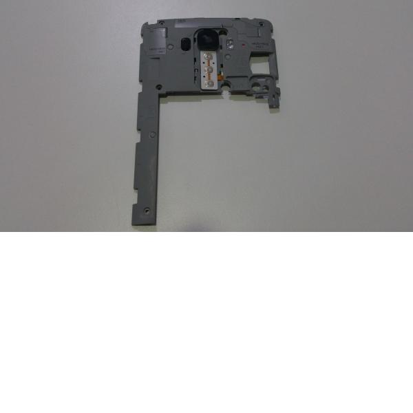 CARCASA INTERMEDIA CON LENTE LG G4 STYLUS H635 - RECUPERADA