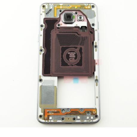 Carcasa Intermedia con Lente de Camara Original para Samsung Galaxy A5 SM-A510 - Versión 2016 - Negra
