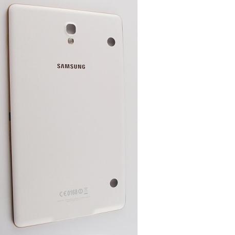 Tapa Trasera Original para Samsung Galaxy Tab S 8.4 T700 - Blanca / Oro