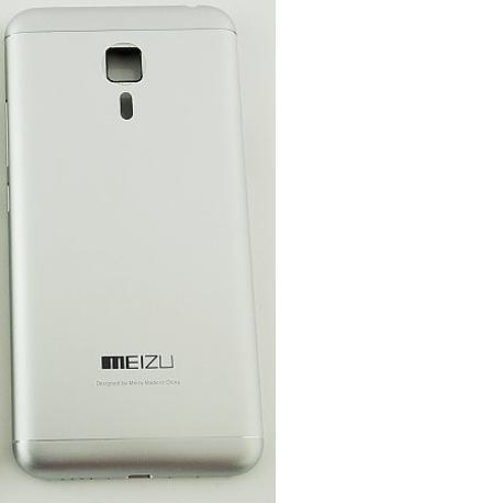 Tapa Trasera de Bateria para Meizu MX5 - Plata