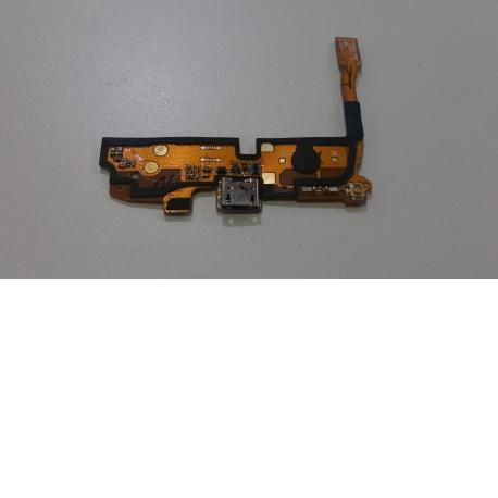 FLEX CONECTOR DE CARGA MICRO USB Y MICROFONO PARA LG DUAL D410 - RECUPERADO