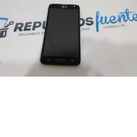 PANTALLA LCD DISPLAY + TACTIL CON MARCO LG L90 D405 N NEGRA - RECUPERADA