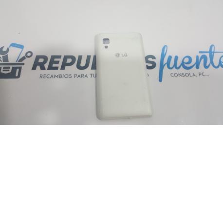 Tapa Trasera para LG Optimus L4 II E440 Blanca - Recuperada