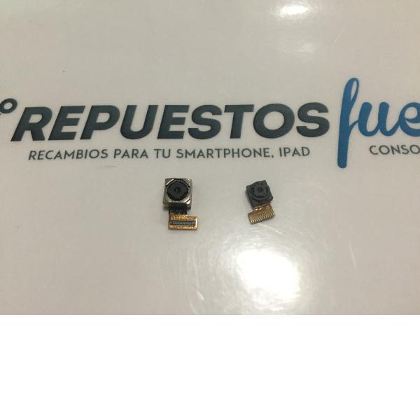 CAMARA TRASERA Y FRONTAL ORIGINAL SISWOO C55 LONGBOW 4G LTE - RECUPERADA
