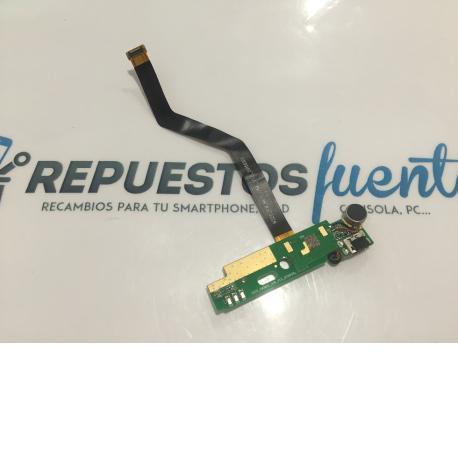 FLEX MODULO CONECTOR DE CARGA ORIGINAL SISWOO C55 LONGBOW 4G LTE - RECUPERADO