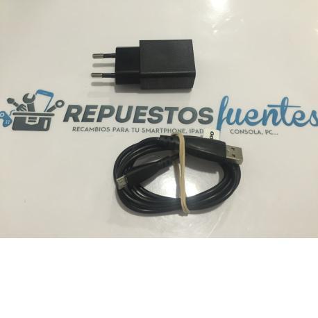 CARGADOR DE RED ORIGINAL SISWOO C55 LONGBOW 4G LTE - RECUPERADO