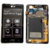 Pantalla lcd + tactil con marco para nuevo lg optimus L5 2 e460 negra