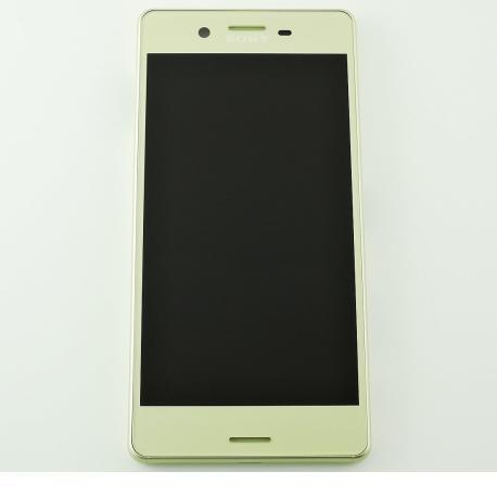 PANTALLA LCD DISPLAY + TACTIL CON MARCO ORIGINAL PARA SONY XPERIA X (F5121), XPERIA X DUAL (F5122) - LIMA
