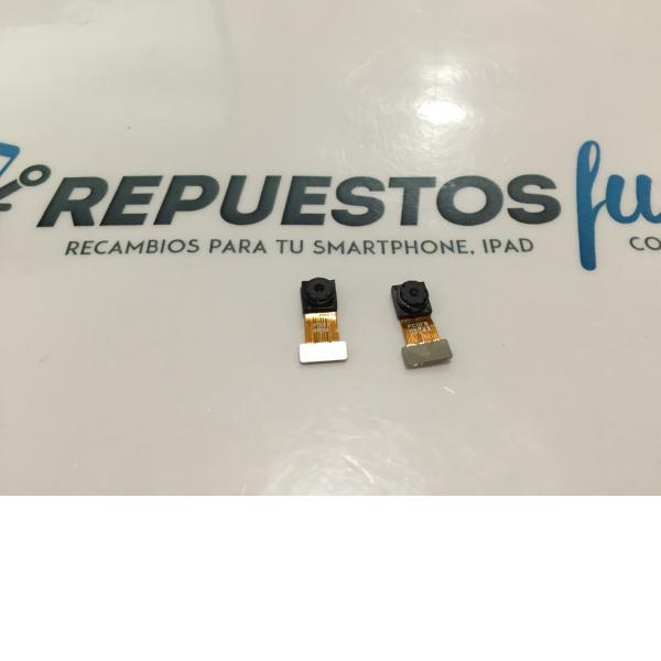 CAMARA TRASERA Y FRONTAL ORIGINAL ALCATEL PIXI 3 10.1 MODEL 8079 - RECUPERADA