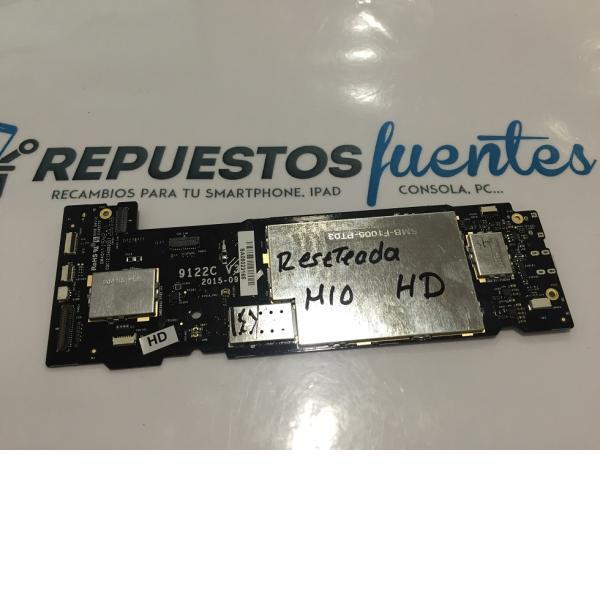 PLACA BASE ORIGINAL TABLET BQ AQUARIS M10 HD - RECUPERADA