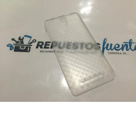 FUNDA TRANSPARENTE ORIGINAL LEOTEC ARGON E250 - RECUPERADA