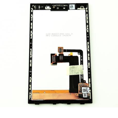 PANTALLA TACTIL + LCD DISPLAY PARA BLACKBERRY PORSCHE P9982 - NEGRA