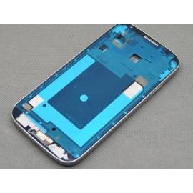 Carcasa Marco Frontal para Samsung galaxy S4 i9505 - Plata