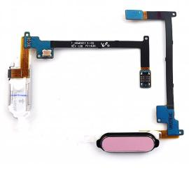 FLEX BOTON HOME SAMSUNG GALAXY NOTE 4 N910F ROSA