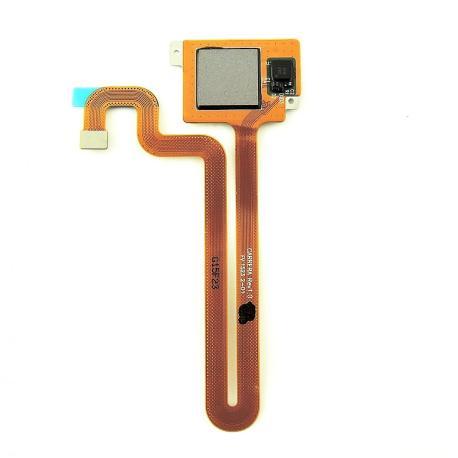 Flex Detector Huella Dactilar para Huawei Ascend Mate S - Negro