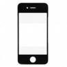 Ventana gorila glass Tactil Apple iphone 4 4s Negro