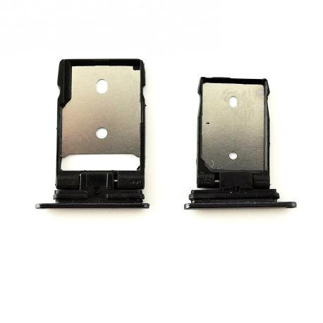 Set de Bandeja SIM y SD para HTC A9 - Negra