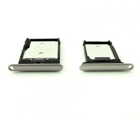 SET DE BANDEJA SIM Y SD PARA HTC A9 - BLANCA
