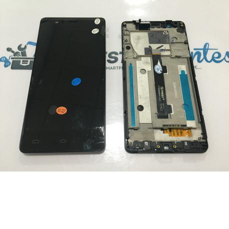 Pantalla Lcd + Tactil Con Marco Original Bq Aquaris E5 FHD IPS5K0760FPC-A1-E Negra