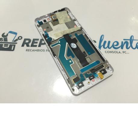 PANTALLA LCD + TACTIL CON MARCO ORIGINAL BQ AQUARIS M4.5 NEGRA