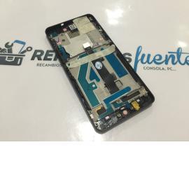 PANTALLA LCD + TACTIL CON MARCO ORIGINAL BQ AQUARIS A4.5 - NEGRA