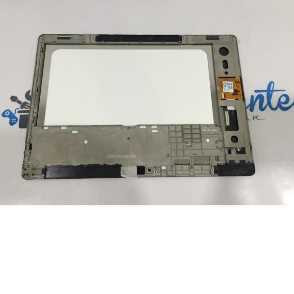 PANTALLA LCD + TACTIL CON MARCO ORIGINAL TABLET BQ AQUARIS M10 FHD - NEGRA