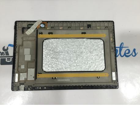PANTALLA LCD + TACTIL CON MARCO ORIGINAL TABLET BQ AQUARIS E10 WIFI - NEGRA