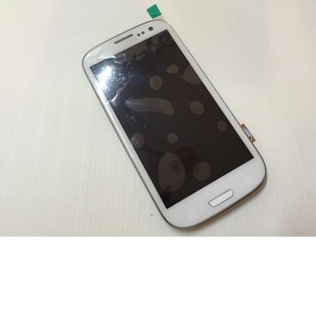 Pantalla completa + carcasa frontal Samsung Galaxy S3 i9300 Blanco - Compatible
