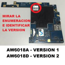 PLACA BASE ORIGINAL ACER ICONIA A3-A20 10.1 PULGADAS VERSION 2 - RECUPERADA