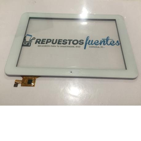 "Pantalla Tactil Brigmton Tablet Pc 10.1"" Quad Core IPS HD BTPC-1014QCHD Blanca - Recuperada"