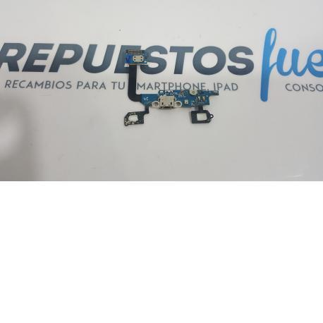 FLEX DE CARGA + BOTONES FUNCION ORIGINAL SAMSUNG GALAXY ALPHA SM-G850F - RECUPERADO
