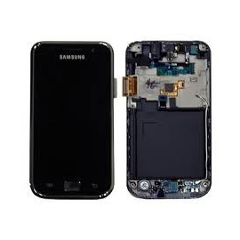 Pantalla completa lcd + tactil con marco original Samsung i9001 Galaxy S PLUS NEGRA de desmontaje