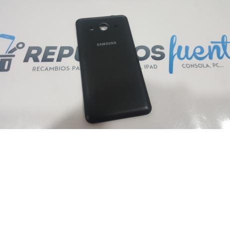 Carcasa Tapa Trasera Original para Samsung Galaxy Core 2 G355 - Negra - Recuperada
